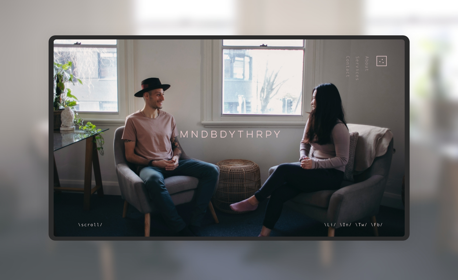 Mind Body Therapy - Visual Identity + Website